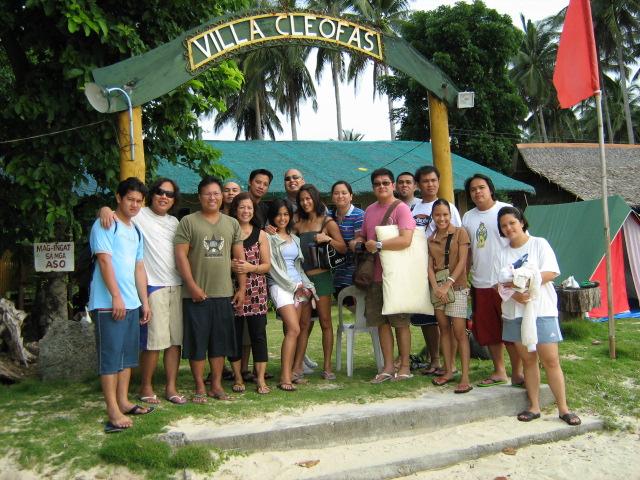 Angel Aquino and ABS CBN Staff